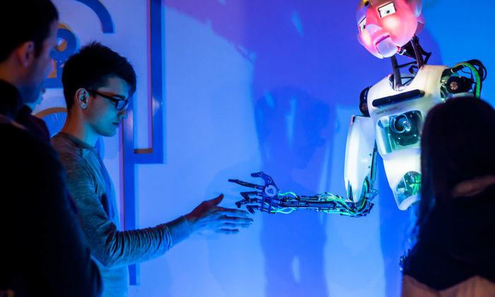 Интерактивная выставка «Робостанция» наВДНХ