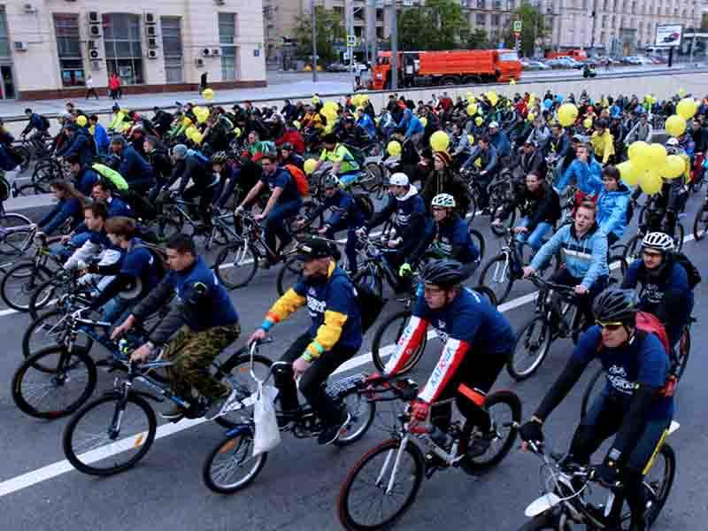 Московский осенний велофестиваль